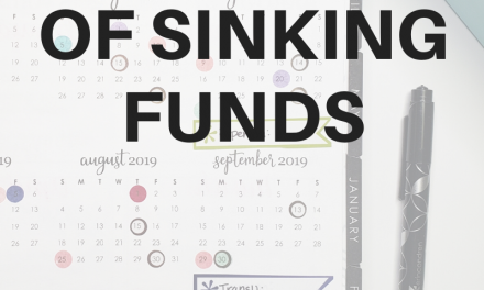 The Basics of Sinking Funds