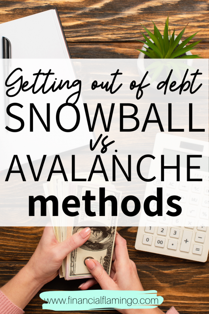 Getting out of Debt: Snowball vs Avalanche Methods