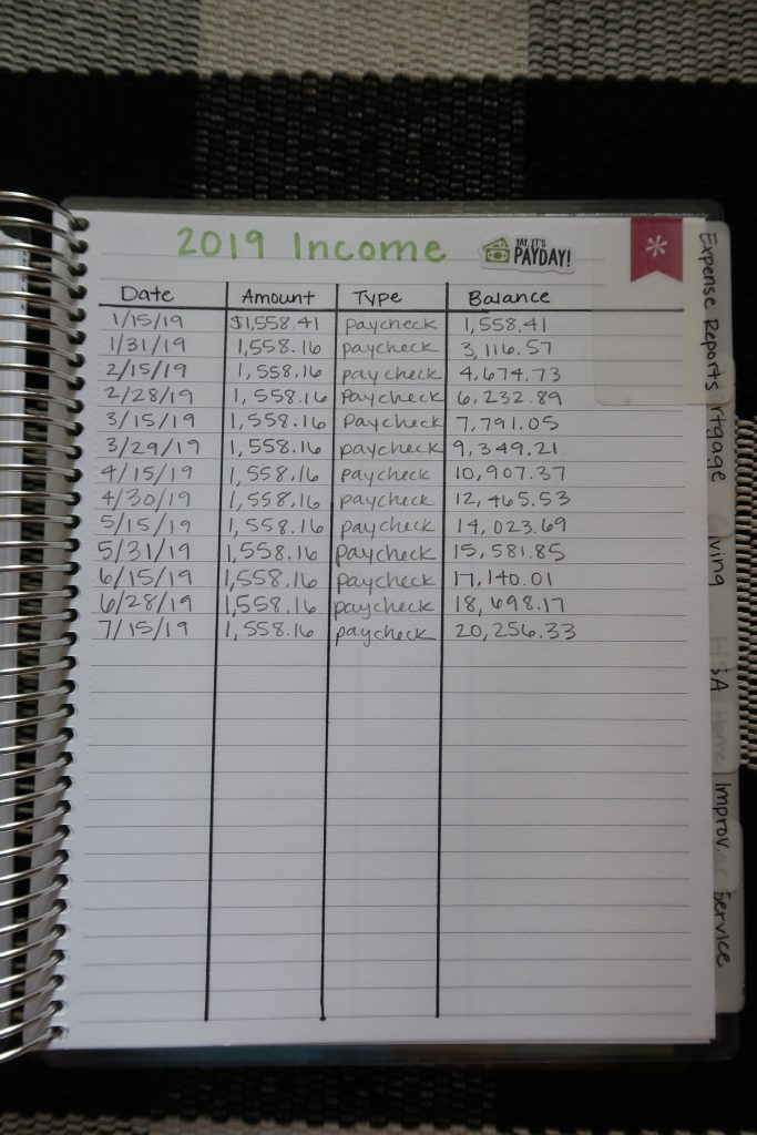 Erin Condren Deluxe Monthly Planner for Budgeting
