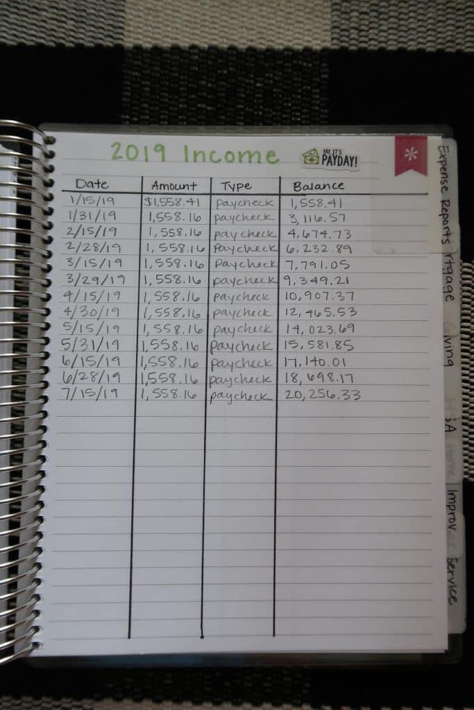 Erin Condren Deluxe Monthly Planner for Budgeting