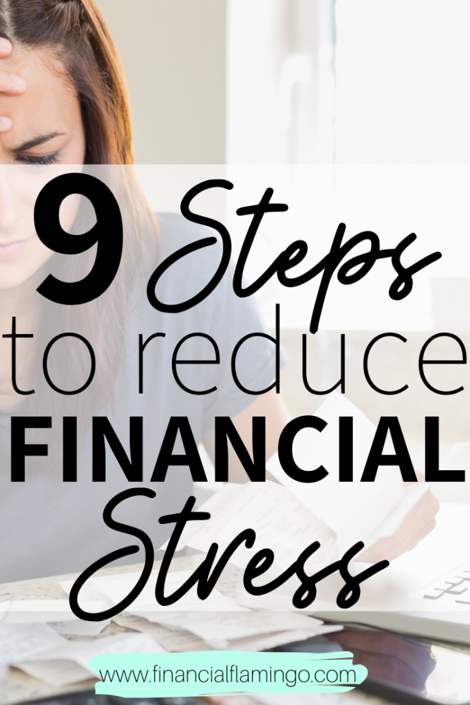 9 Steps to Reduce Financial Stress