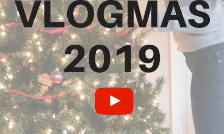 Vlogmas 2019 – Check out My YouTube Channel!