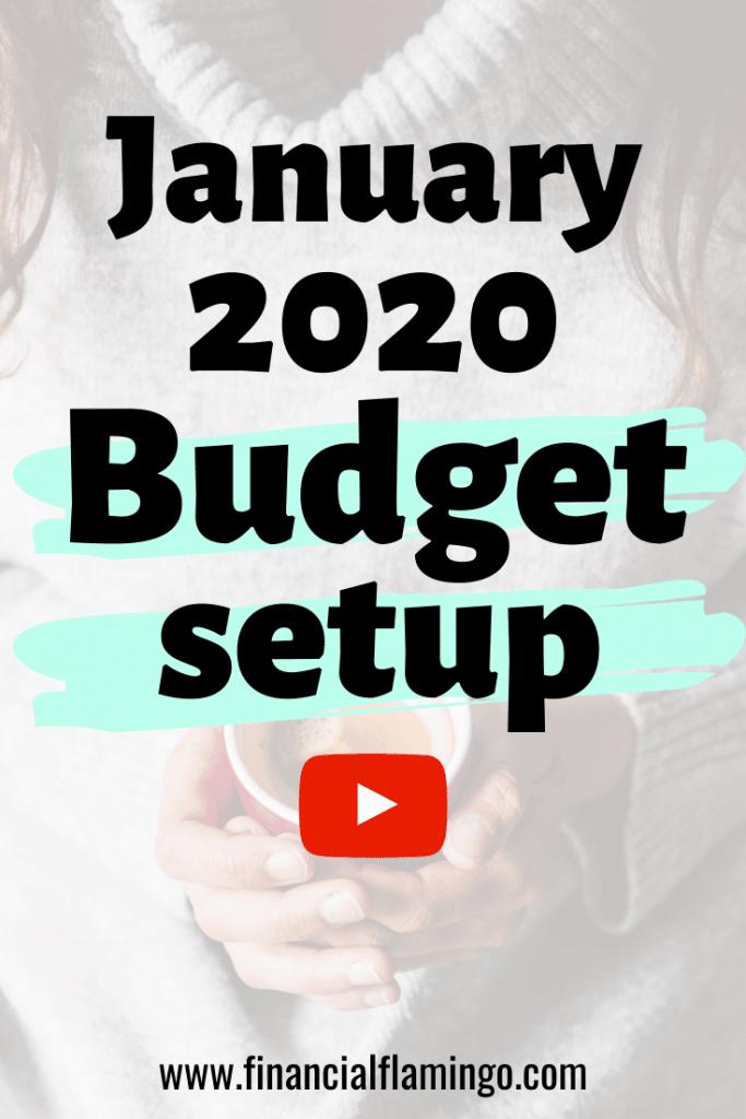 January 2020 budget setup