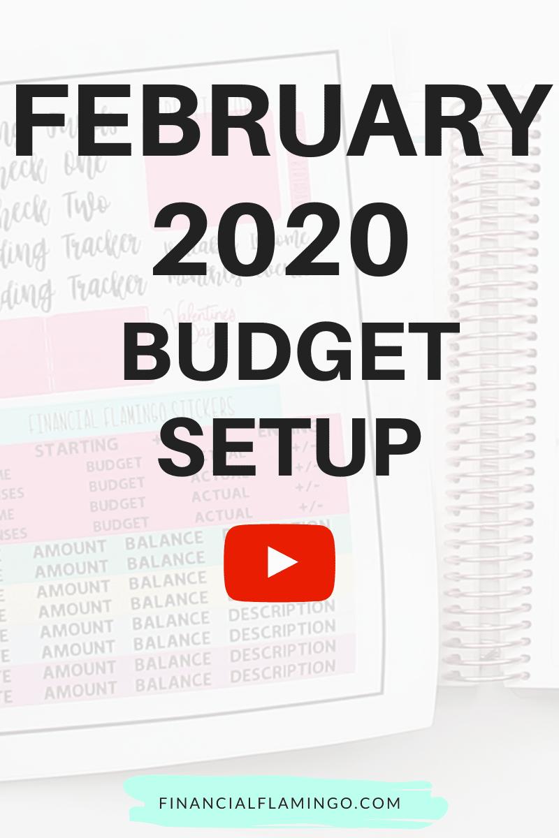 February Budget Setup